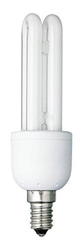 Energiesparlampe, Energiesparleuchte, Lampe, Leuchtmittel, E14, 240 V, 9 W, 405 lm, 2700 K warmweiß