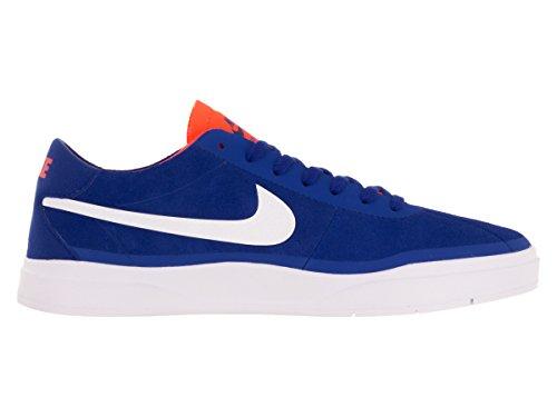 Nike Bruin Sb Hyperfeel, Chaussures de Skate Homme, 42 EU Bleu, blanc (Rcr Blue / White-Ttl Crmsn-White)