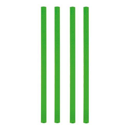 nkhalme, Jumbo Trinkhalme, Cocktailhalme, grün , Ø 8 mm, 25 cm, 12637 ()