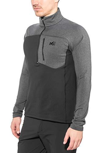 Millet Technostretch Zip Forro Polar para Hombre, Hombre, Color Noir/h Tarmac, tamaño...