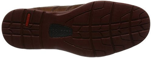 Rockport Herren Total Motion Fusion Wing Tip Brogue Schnürhalbschuhe Brown (new Caramel Leather)