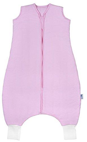 Schlummersack Schlafsack mit Füßen ganzjährig in 2.5 Tog - Pink - 18-24 Monate/90 cm