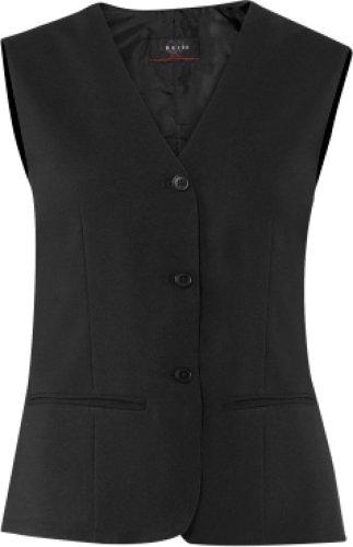 GREIFF Damen-Weste Anzug-Weste SERVICE CLASSIC - Style 8220 - schwarz - Größe: 44