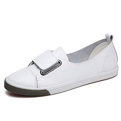 Successg Frauen Plattform Mode Pu Leder Freizeitschuhe Bequeme Weibliche Flache Schuhe Erwachsene Sommer Weibliche Schuhe Schwarz Weiß Zwei Farben