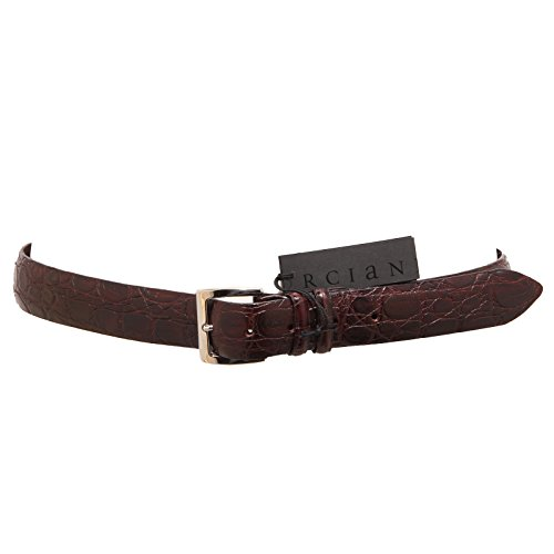 3484Q cintura uomo ORCIANI marrone hand made belt men [90 CM ]