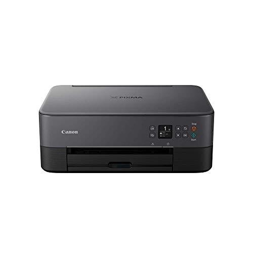 Canon PIXMA TS5350 Imprimante Multifonction Couleur avec Impression Couleur, numérisation, Copie, écran LCD de 8 cm, Wi-FI, Application d'impression 4800 x 1200 PPP Noir