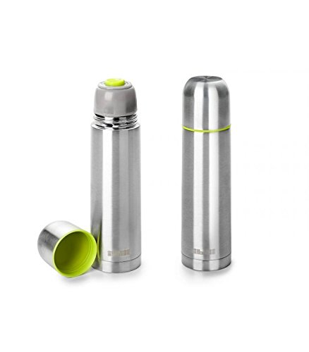 IBILI Termo per liquidi Mini 200ml, in Acciaio Inox, Metallico, 5.5x 5.5x...