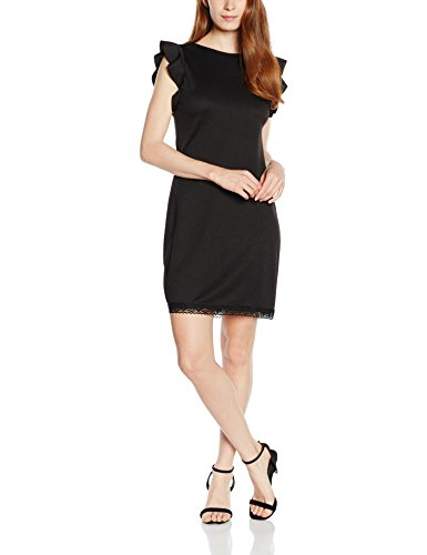 Les Sophistiquees Damen Kleid Tubino Schwarz