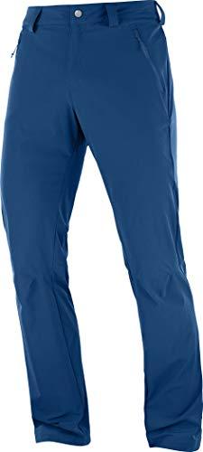SALOMON Herren Wayfarer Straight LT Pant Outdoor-Hose, Blau (Poseidon), 52