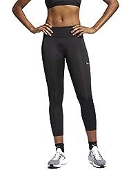Nike Fast Mr, Pantaloni Donna, Black/Reflective Silv, S