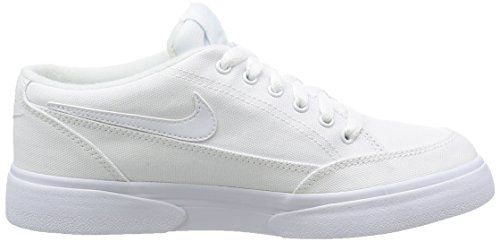 Nike Wmns Gts '16 Txt, Chaussures de Tennis Femme Blanco (Blanco (white/white-white))