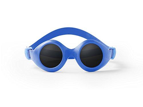 Pyke - BabyPyke - Lunettes de soleil - 3 à 36 mois - Mixte Fille / Garçon - Bleu foncé