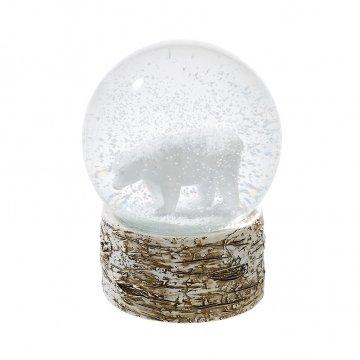 Talking Tables NORDIC-SNOWGLOBE Nordisches weihnachten Eisbär, Pappe, mehrfarben, 25.12 x 10 x 25.12