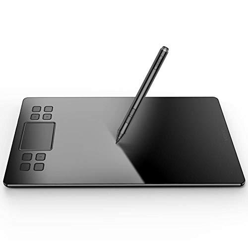 RTYUT LCD Schrift Tabletlevels Grafiktabletts Reißbrett Unterschrift StiftDigital Drawing Tablet Elektronische Zeichenbrett 10X6 Zoll