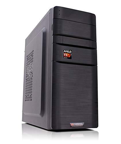 Office Aufrüst PC K11 AMD, FX-6300 6x3.5 GHz, 16GB DDR3, Radeon HD3000 1GB, 500W, Computer Desktop Rechner (Computer Tower Mit Ms-office)