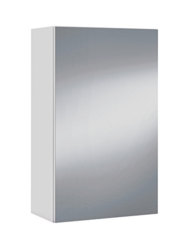Arkitmobel – Camerino de baño, 65 x 40 x 21 cm, color blanco brillo