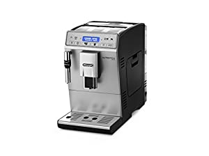 DeLonghi ETAM29.620.SB Autentica Plus Bean to Cup Coffee Machine, 1450 W, Black and Silver