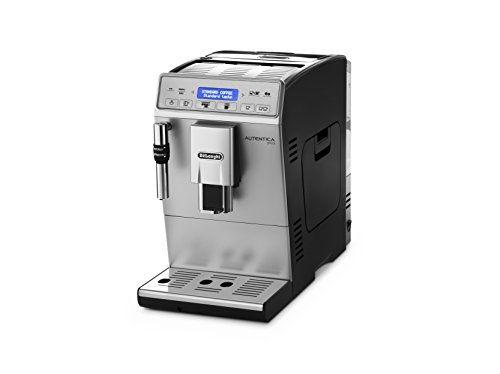 DeLonghi Autentica Plus ETAM 29.620.SB Kaffeevollautomat (1450 W, 1,4 l, Dampfdüse) silber/schwarz