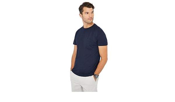 f6db61fe J by Jasper Conran Navy Pique T-Shirt: Debenhams: Amazon.co.uk: Clothing