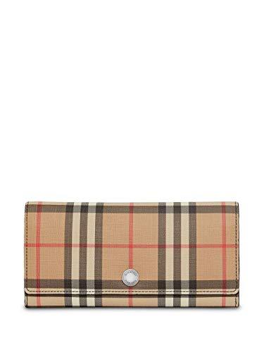 BURBERRY Damen 8015120 Beige Leder Brieftaschen