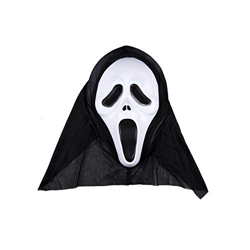 BWMY Halloween Dekoration Festival Requisiten Horror Maske Geistermaske Party Supplies-21 * 35 cm,Scream