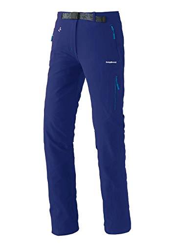 Trangoworld pc007777 – 2 CF-m Pantalon Long, Femme, Bleu Encre, M