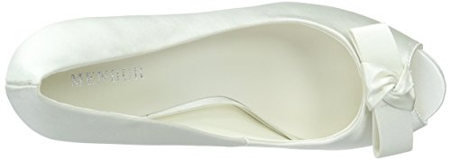 Menbur WeddingLuz - Scarpe con Tacco Donna Bianco (Off White (Off White 04))