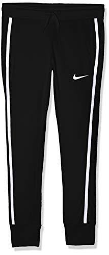 Nike Mädchen G NSW Jersey Pants, Black/White, XL Nike Jersey Capri