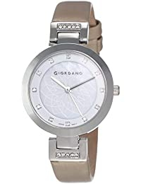 Giordano Analog Silver Dial Women's Watch-2906-11