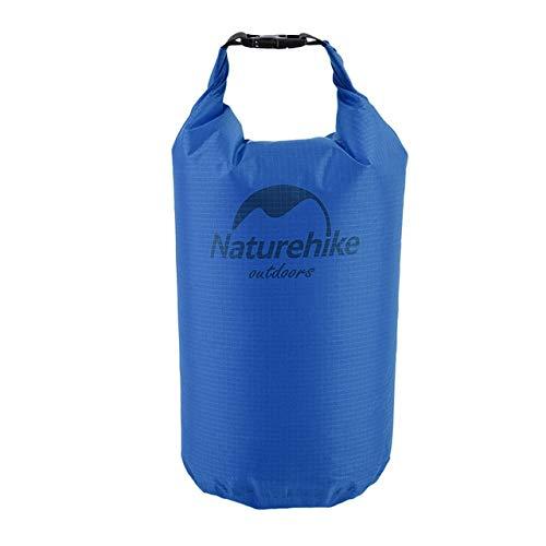 HATCHMATIC Naturehike 15.05 / 20L wasserdichter Beutel-Speicher-Dry Bag für Kanu Kajak Rafting Orts Outdoor-Camping-Reise-Set: blau 5L, ain -