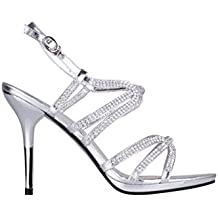 KRISP Sandalias Mujer Verano 2018 Tacón Plataforma Talla Zapato Calzado