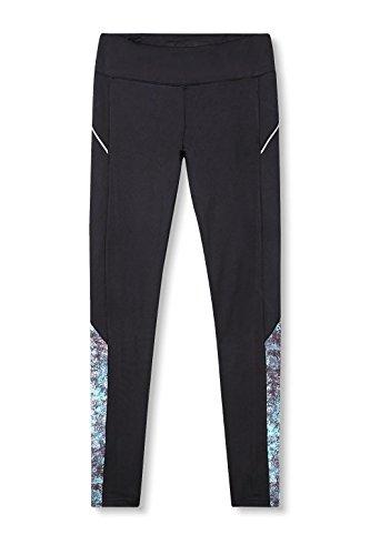 Esprit Sports 017ei1b006-E-Dry Tights, Leggings Femme Noir (Black 001)