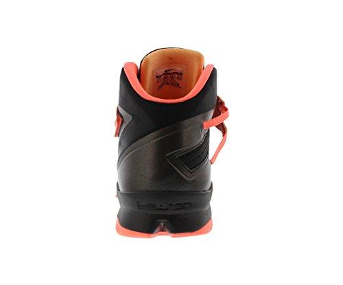 Nike Zoom LeBron Soldier VIII Grey/Hyper Punch 653641 363 Grau (Grey/Hyper Punch)