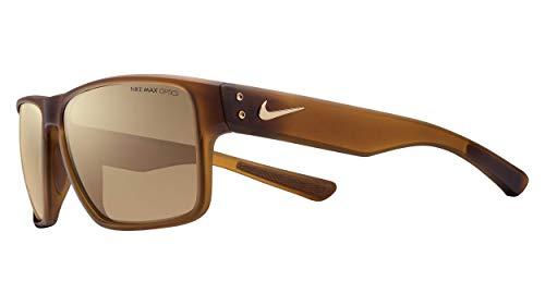 Nike Unisex-Erwachsene Mavrk R Ev0773 Sonnenbrille, Braun (Mt Trts/BRWN W/Brnz FL), 59