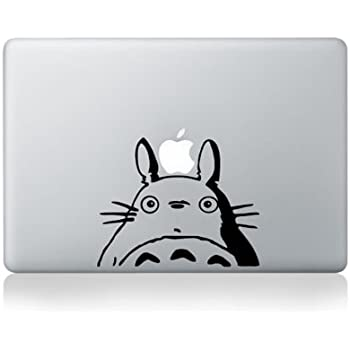 Totoro macbook decal sticker 13inch