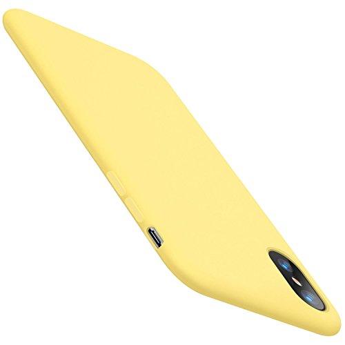 Funda iPhone XS MAX Carcasa Silicona Suave Colores