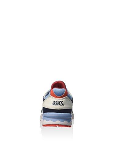 Asics Gel-lyte V Ps, Sneakers Basses Mixte enfant Blanc