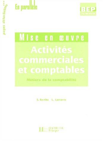 [EPUB] Activités commerciales et comptables terminale bep comptabilité 2 volumes