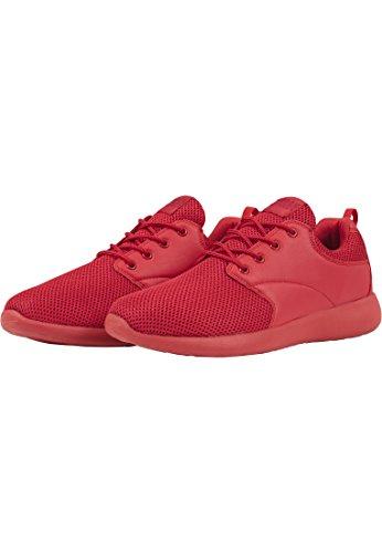Urban Classics Light Runner Shoe, Baskets Basses mixte adulte firered/firered