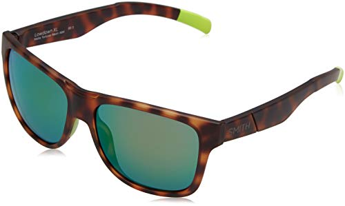 278e5ae634 Smith Men's Lowdown XL X8 A84 59 Sunglasses, (Havana Yellow/Green Ml Cp