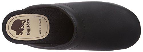 Gevavi5000  BIGHORN - Zoccoli Donna Nero (Schwarz (schwarz(zwart) 00))