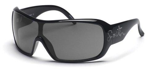 Smith Sonnenbrille Domino, schwarz mit Strass