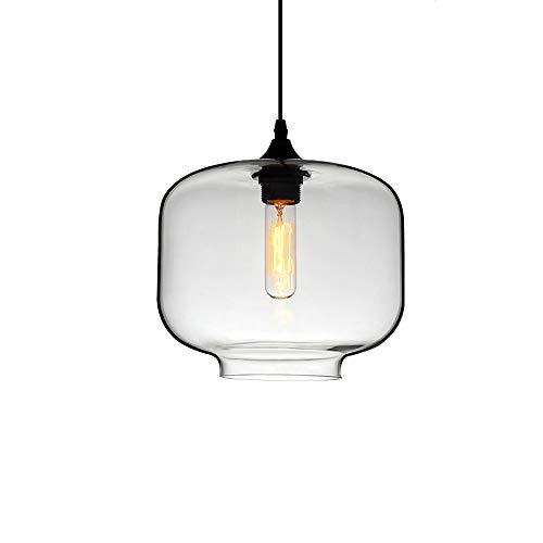 Moderne kreative Persönlichkeit Glas LED Kronleuchter, Retro LOFT Industrial Wind Deckenleuchte Cafe Hotel Restaurant Wohnzimmer Schlafzimmer Studie Dekoration Kronleuchter (form : A)