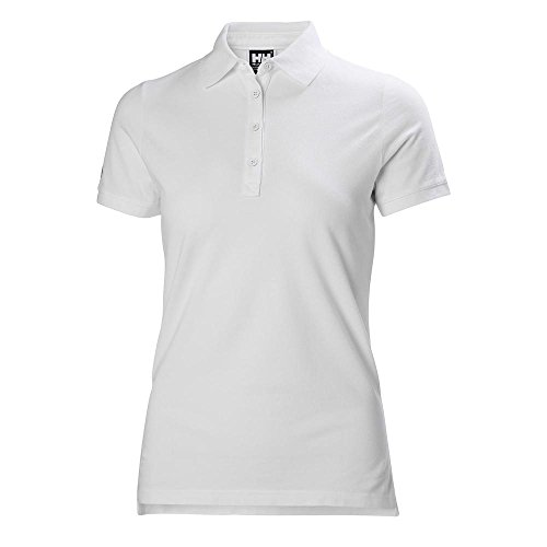 Helly Hansen Damen Crew Pique 2 Polo Hemd, White, 2XL - Polo Ralph Lauren Tennis