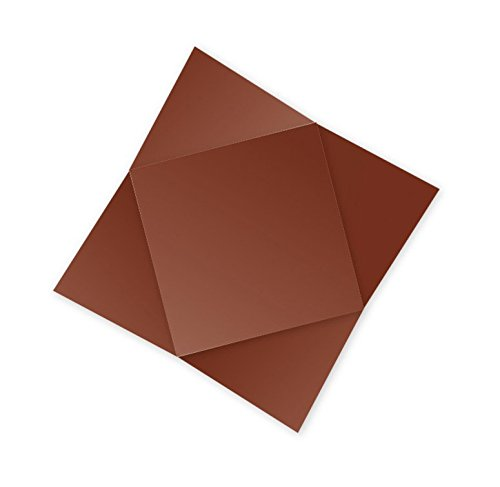 POLLEN Pkg 25 Karten, 210 g, Mönchengladbach, 160 x 160 cm, Kakao