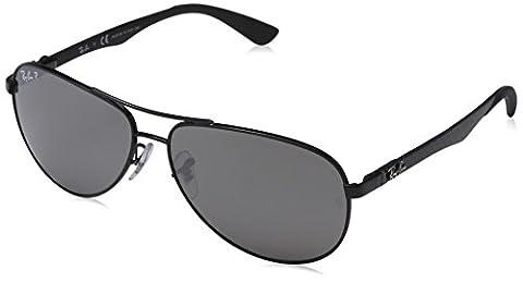 Ray-Ban mixte adulte 8313 Montures de lunettes, Noir (Negro), 58