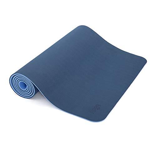 Yogamatte LOTUS PRO, auch für Gymnastik, Pilates und Fitness, weiche und rutschfeste TPE Matte, hypo-allergen, 100{df8bc5a2a63b68c52c41825555c7361632204d19976d0c432d16d98054fb5352} recyclebar