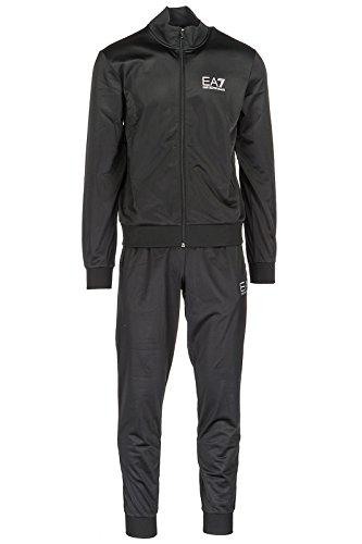 Emporio Armani Men's Ea7 Train Core ID Tracksuit in Black- Jacket: - Zip Fastening