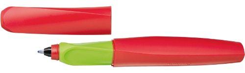 Pelikan R457 Apple Candy Tintenroller Twist Universell für Rechts-/Linkshänder, rot/grün -