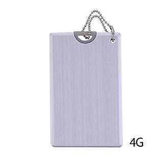 Awtang USB 2.0 U Disk Ultra-Thin Metal Waterproof Pull Card
